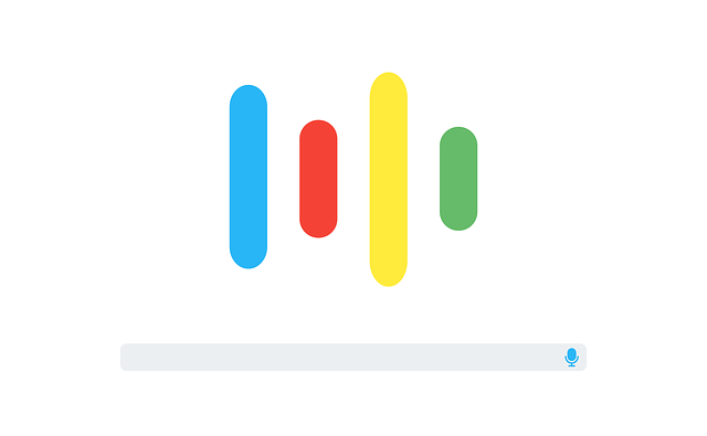 Voice search assistant graphic