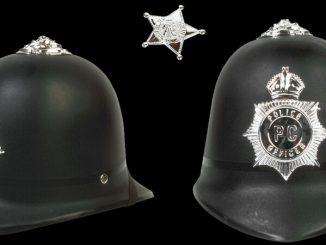 police helmets