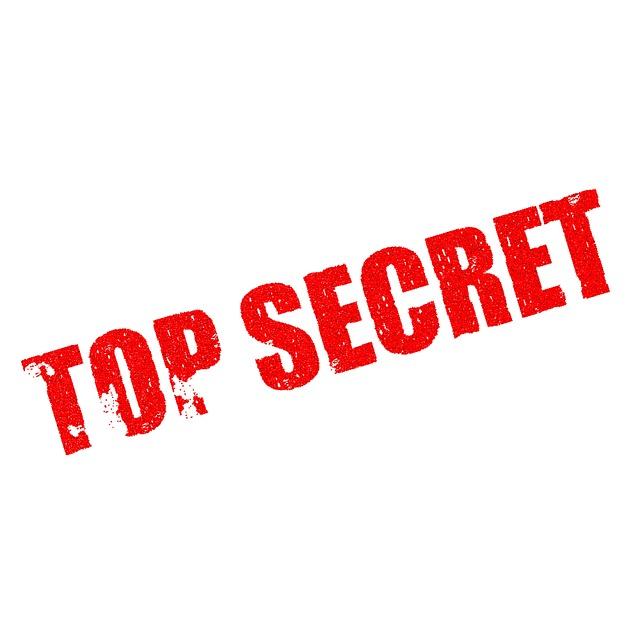 Top secret text