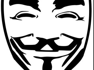 Anonymous guy falkes mask