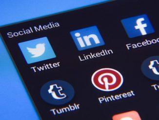 social media website icons