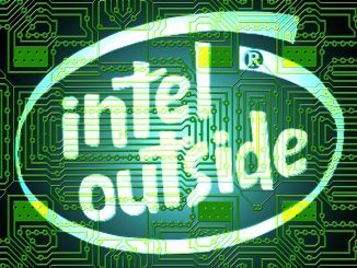 Intel outside logo